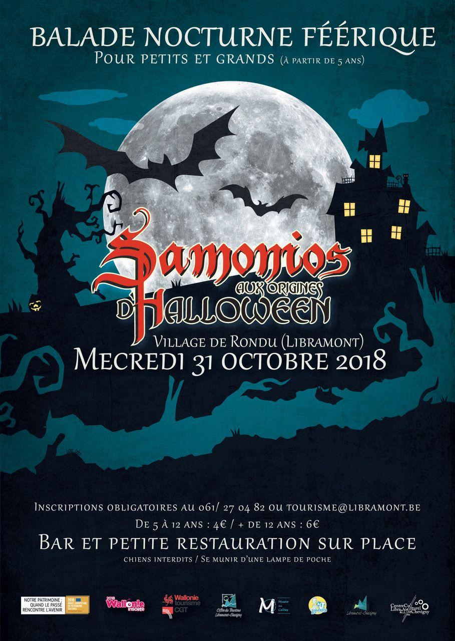 Samonios, dat aan de basis ligt van Halloween photo