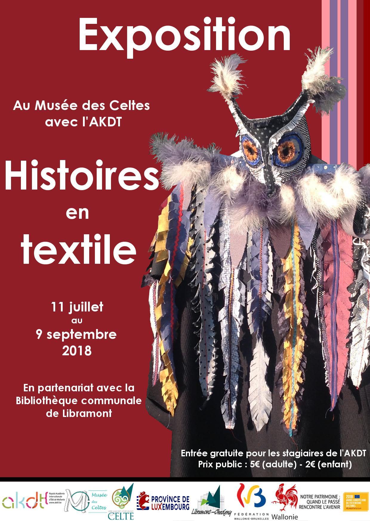 De geschiedenis over het textiel photo