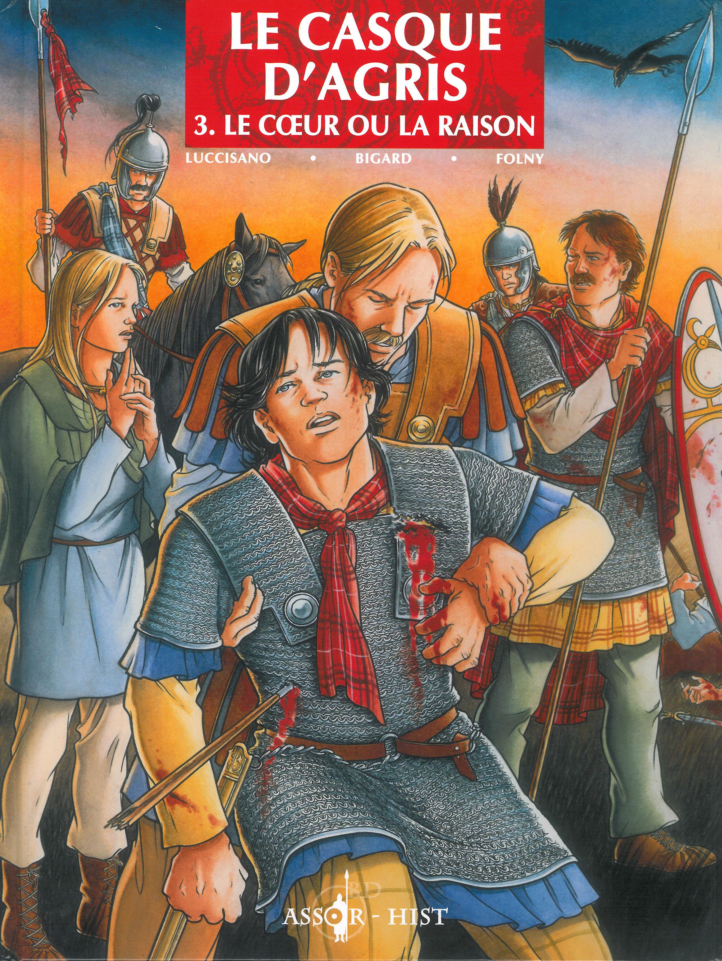 Le Casque d'Agris – 3. Le cœur ou la raison (BD)