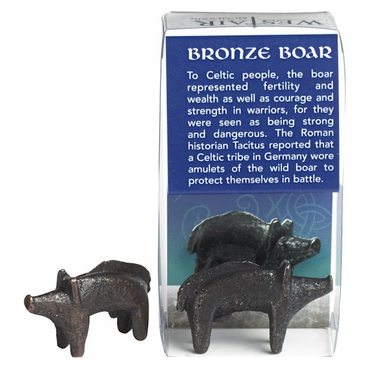 Sanglier celte en bronze