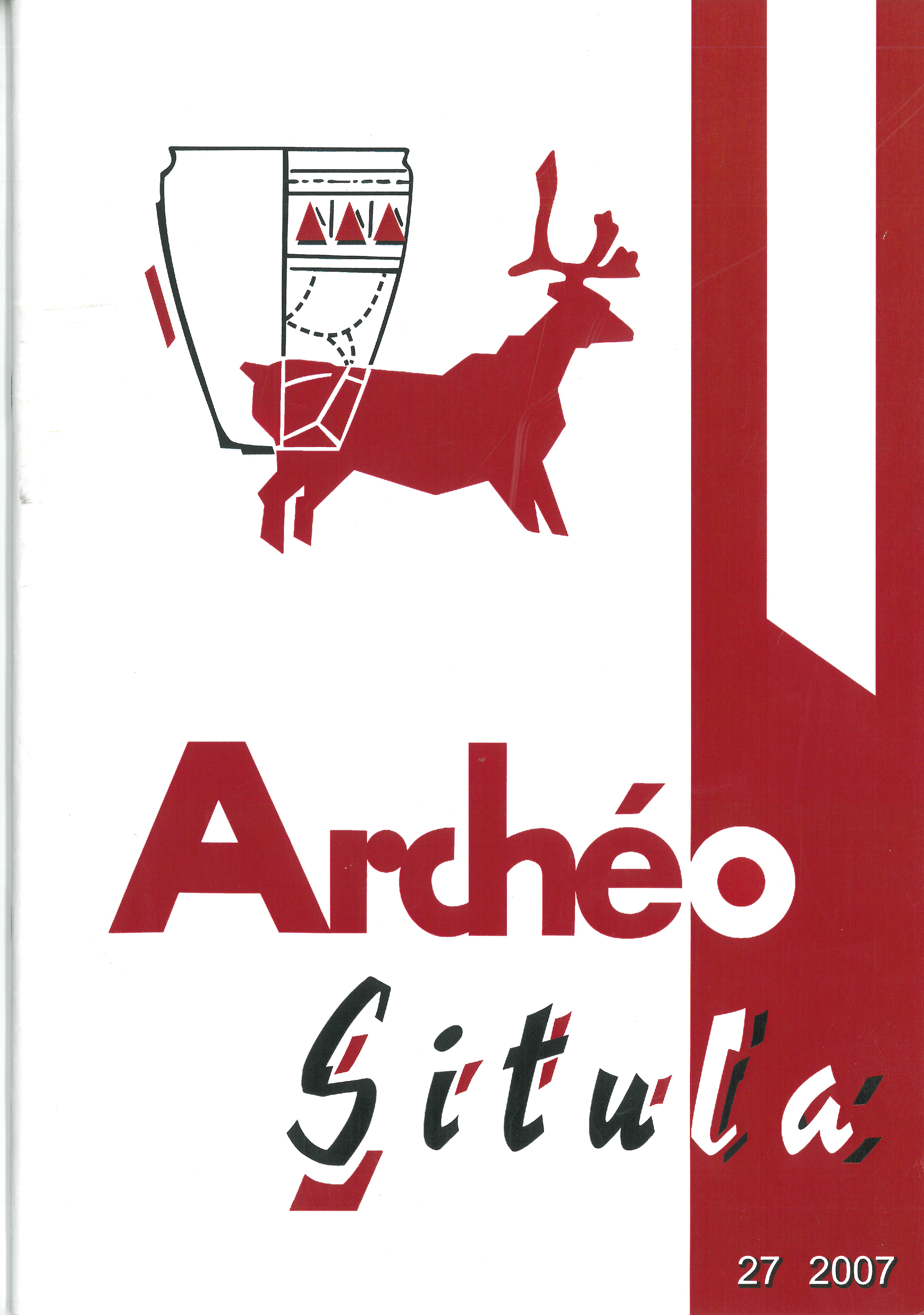 Archéo-Situla 27 – 2007