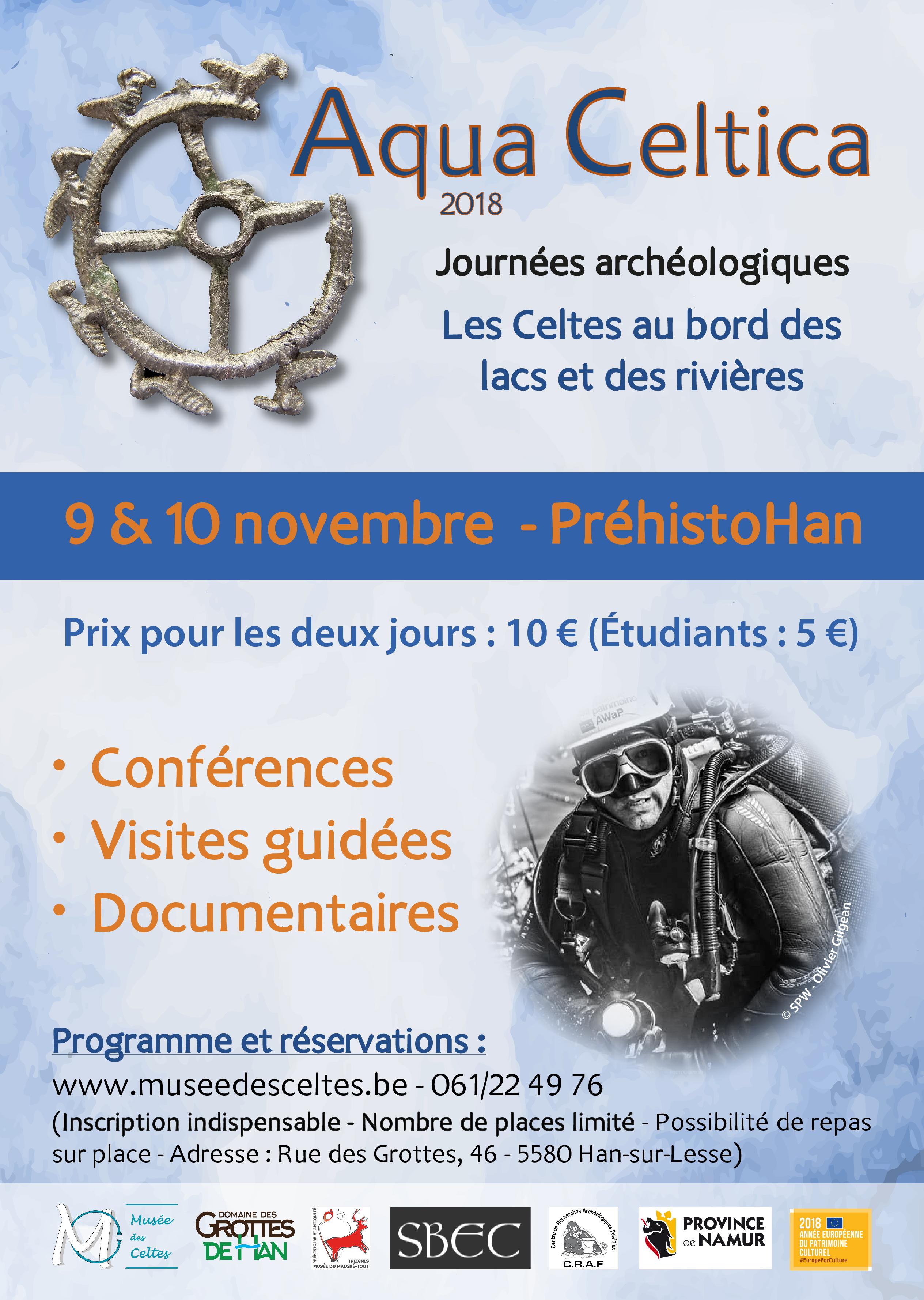 Aqua Celtica – conférences, documentaires, visites guidées à Han-sur-Lesse photo