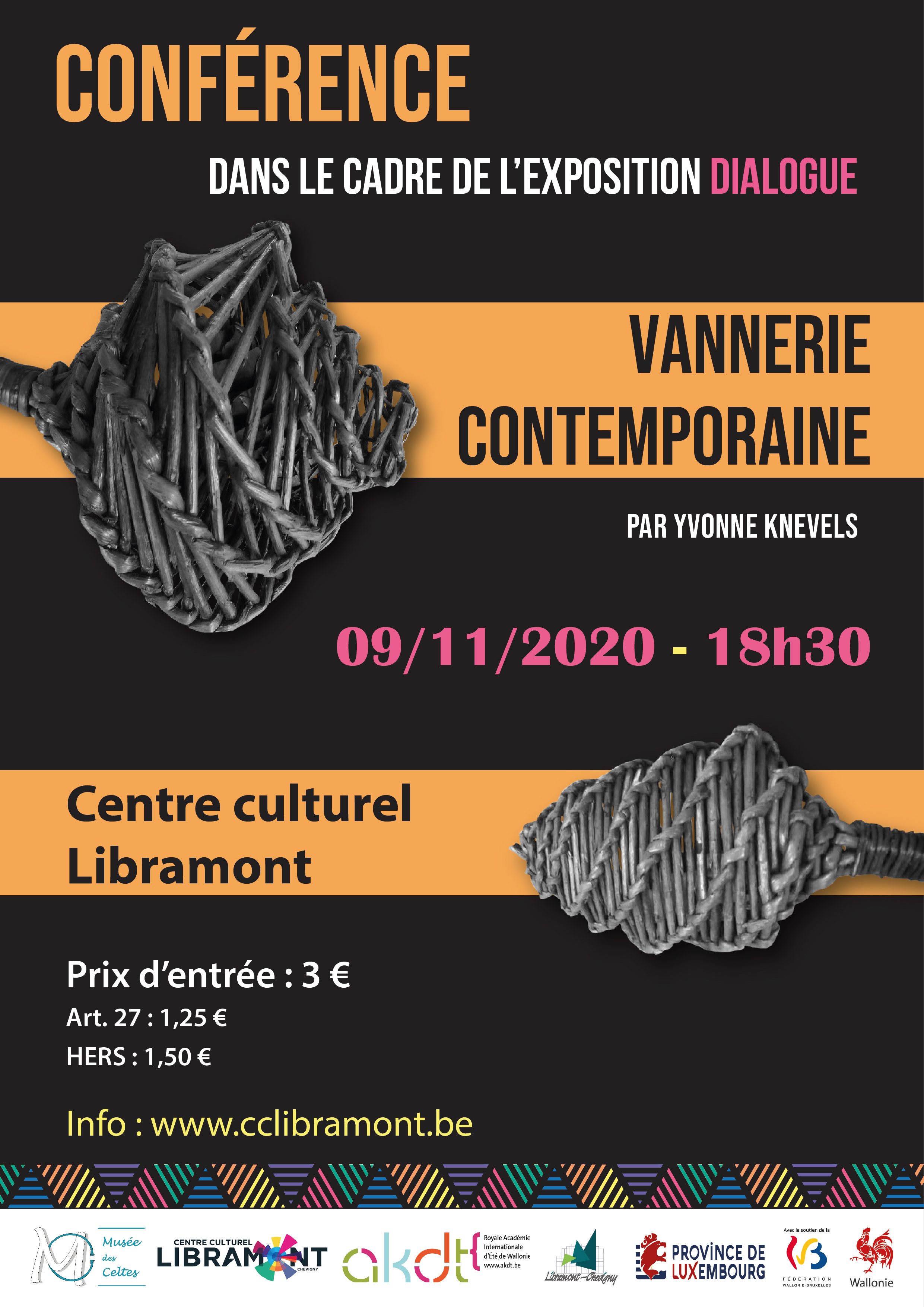 Conférence – Sculptures et installations en osier photo